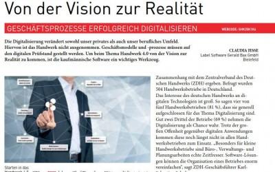 Digitalisierung im Handwerk in der Fachpresse – SHK Profi