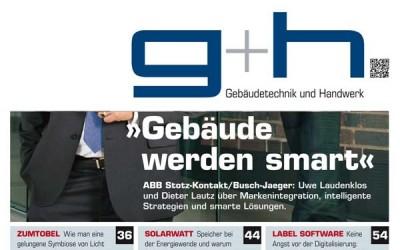 """Label Software """"Keine Angst vor der Digitalisierung"""": Artikel in der g+h"""