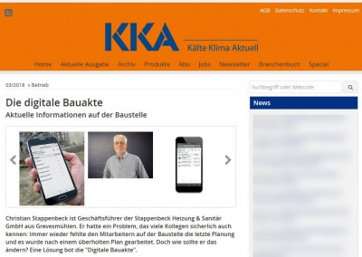 Die Digitale Bauakte – KKA