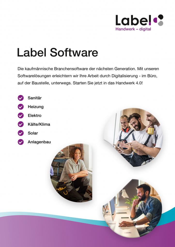 Labelwin-Broschüre