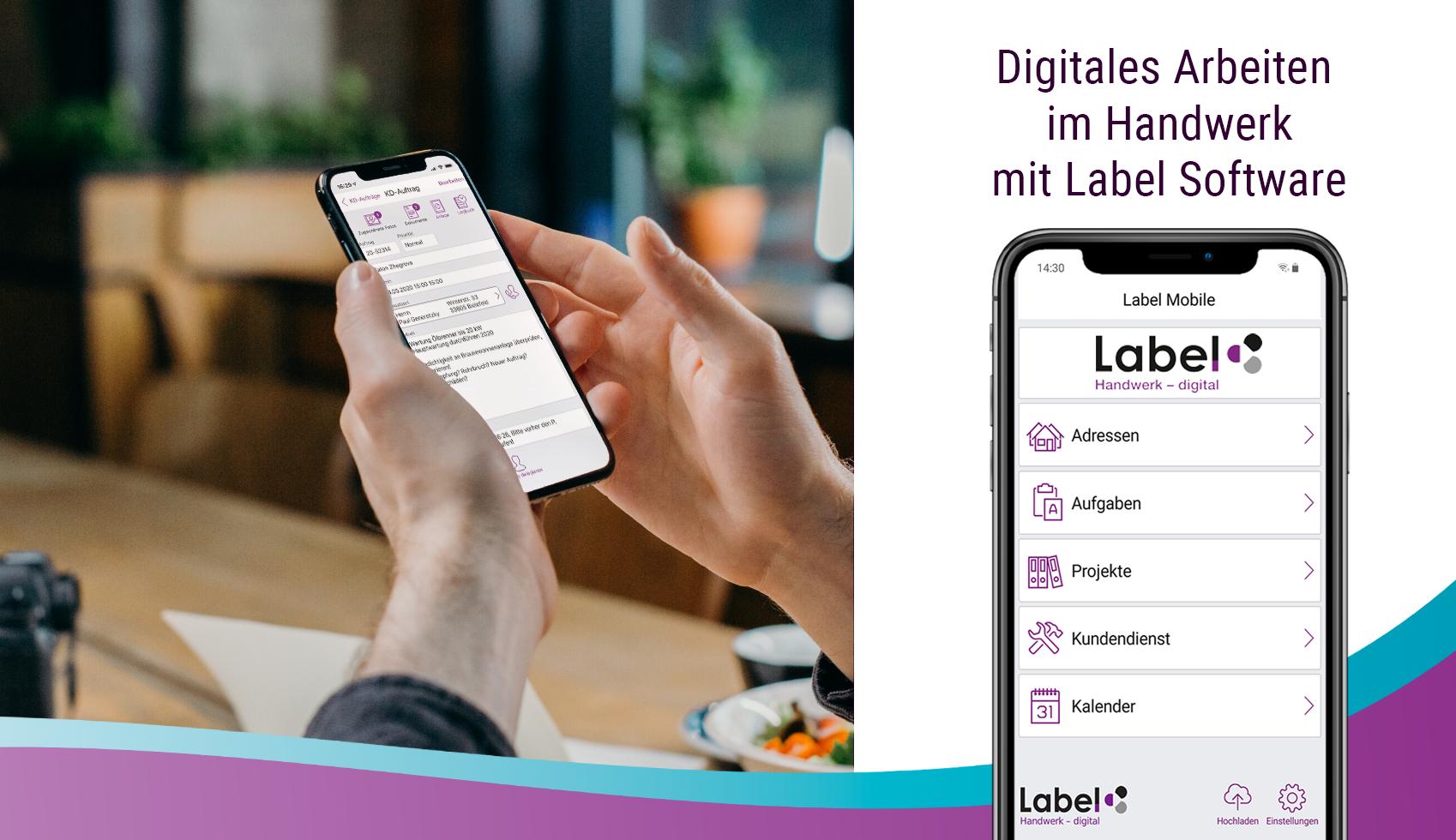 Digitales Arbeiten im Handwerk mit Label Software
