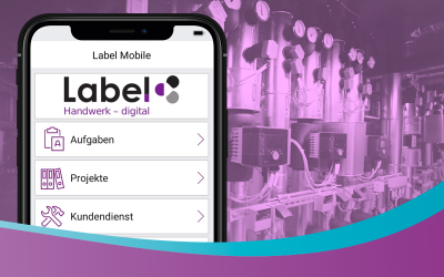 Kundendienst mit Label Mobile 2.0