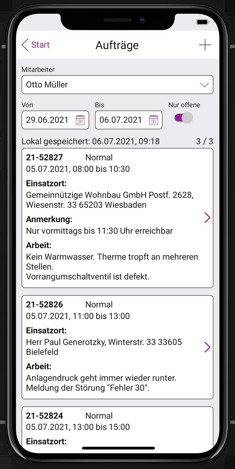 Label Mobile 2.0: Kundendienst